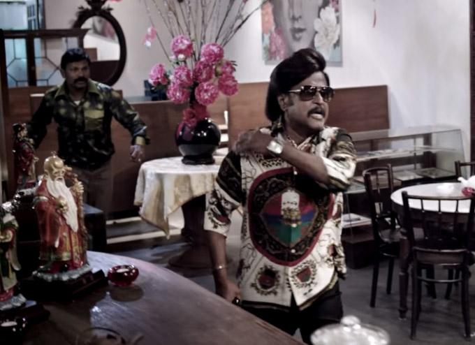 Kabali film old head up rajini photos