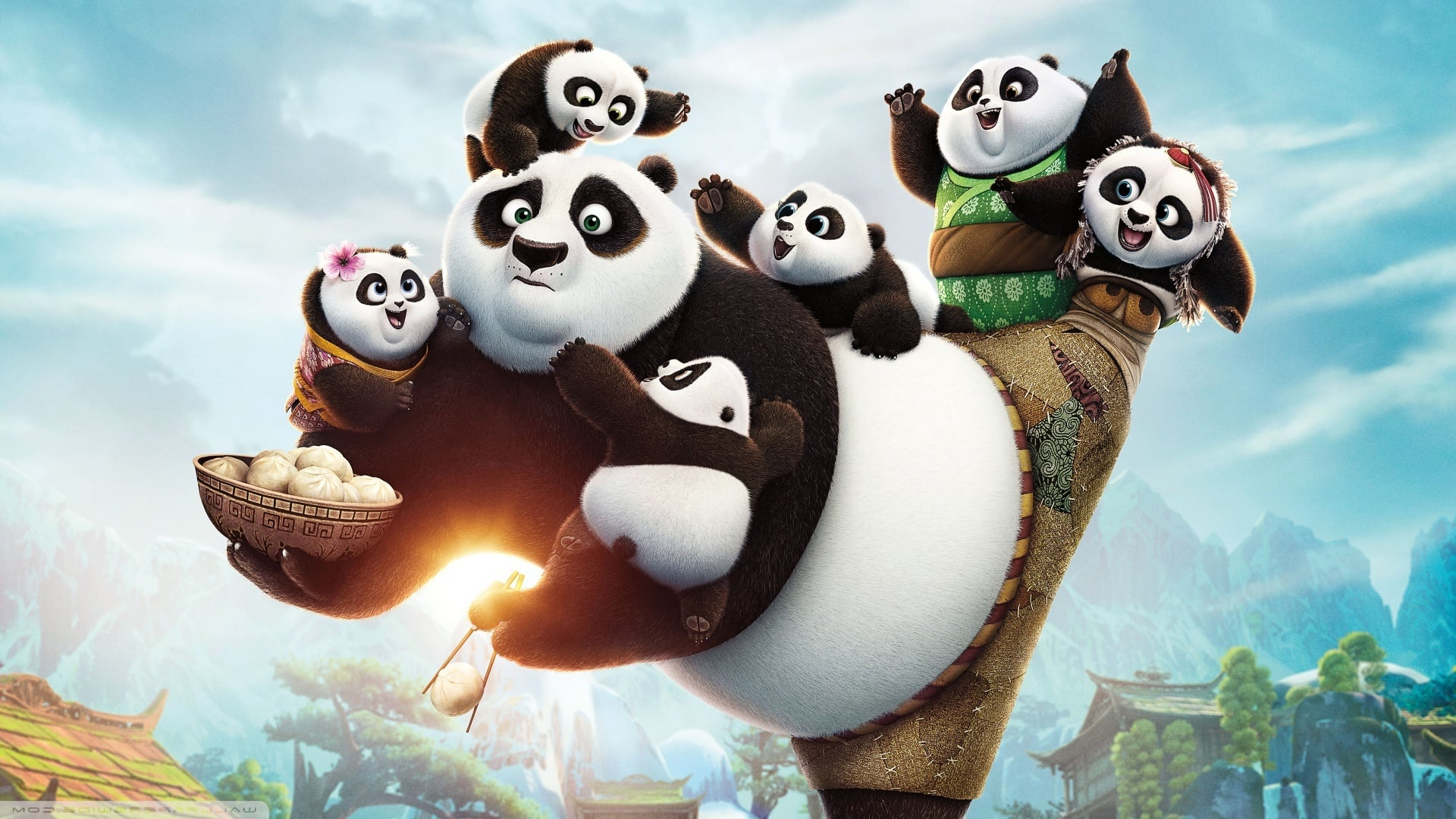 Kung fu panda 3 film photos