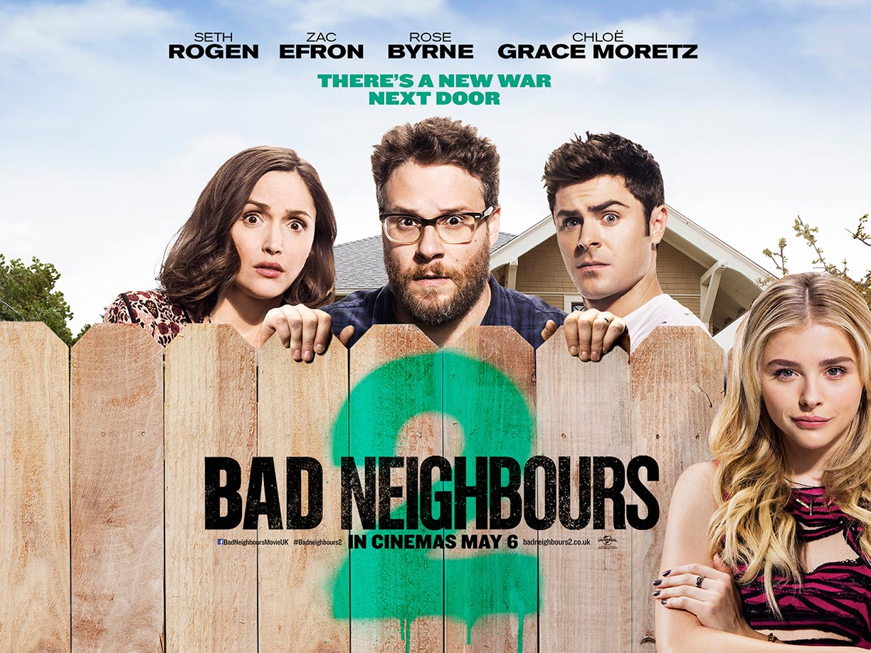 Neighbors 2 sorority rising film poster