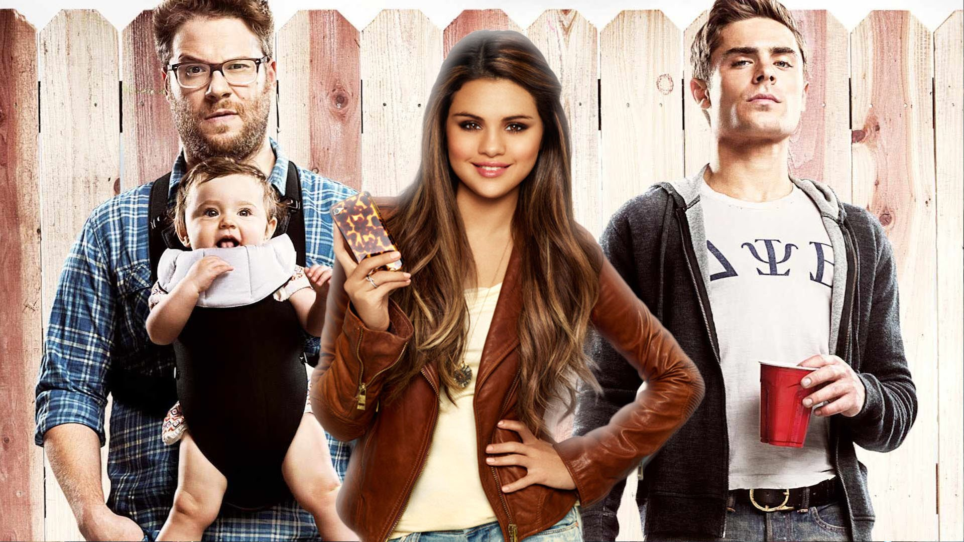Zac efron and seth rogen and chloe grace moretz