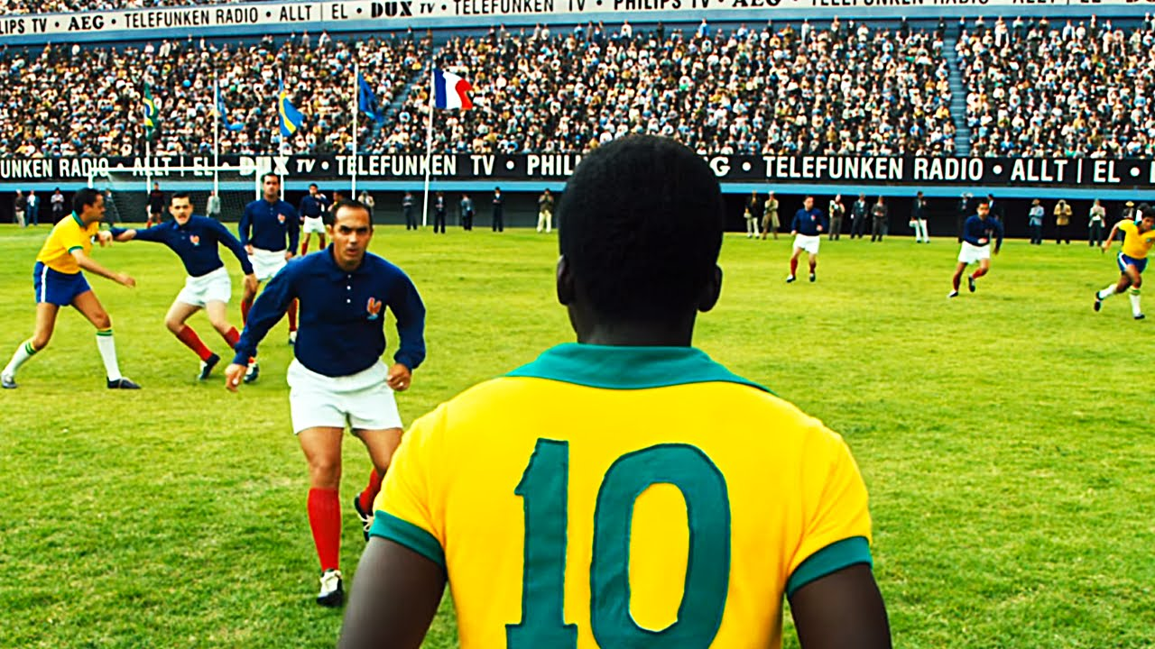 Pele birth of a legend film playing footbal pictures