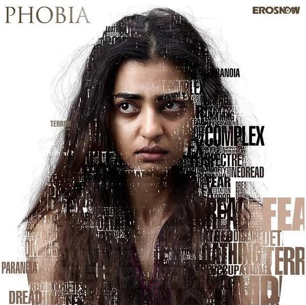 Radhika apte phobia movie poster
