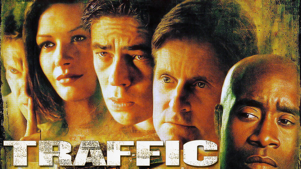 Traffic english movie poster