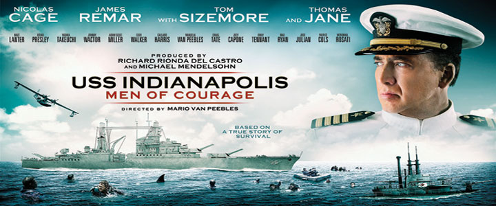 Uss indianapolis men of courage film poster