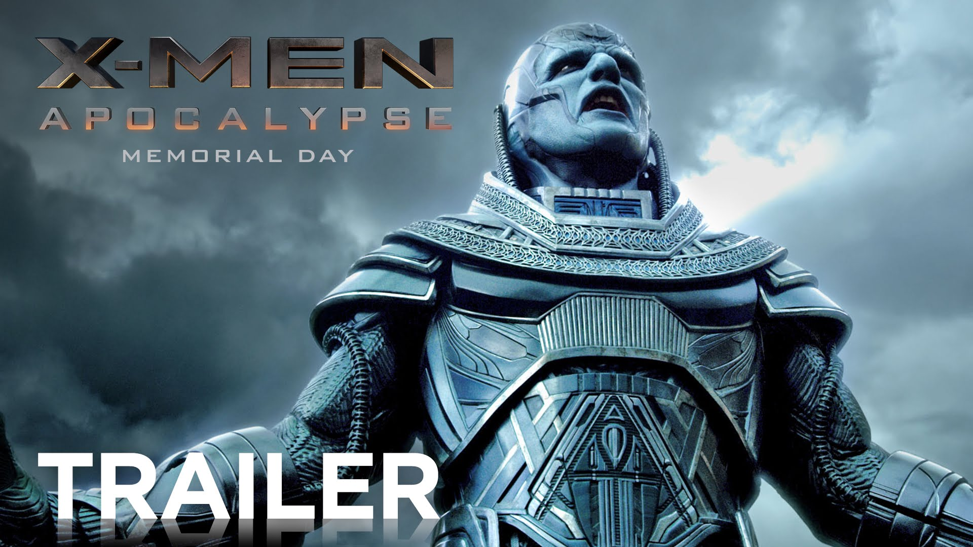 X-men apocalypse movie trailer poster