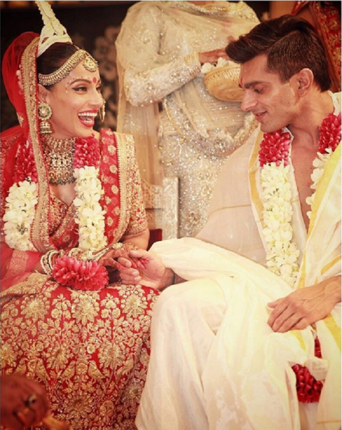 Bipasha basu karan singh marriage pics