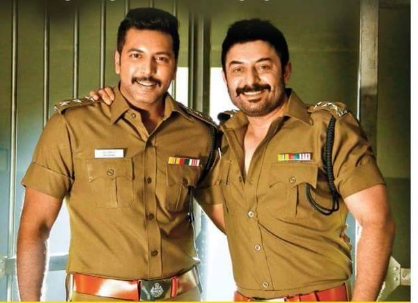 Bogan tamil movie hero jayam ravi and arvind swamy stills