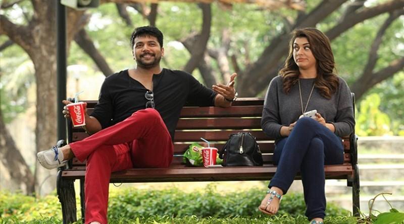 Bogan tamil movie hero jayam ravi and heroine hansika stills
