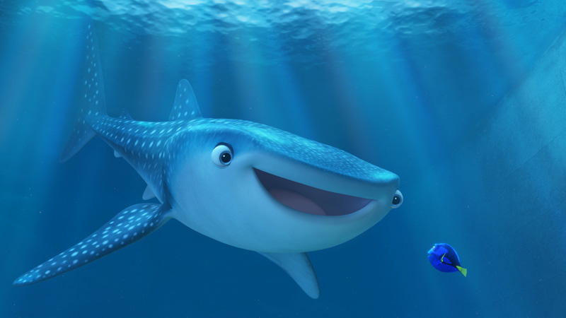 Finding dory film new stills