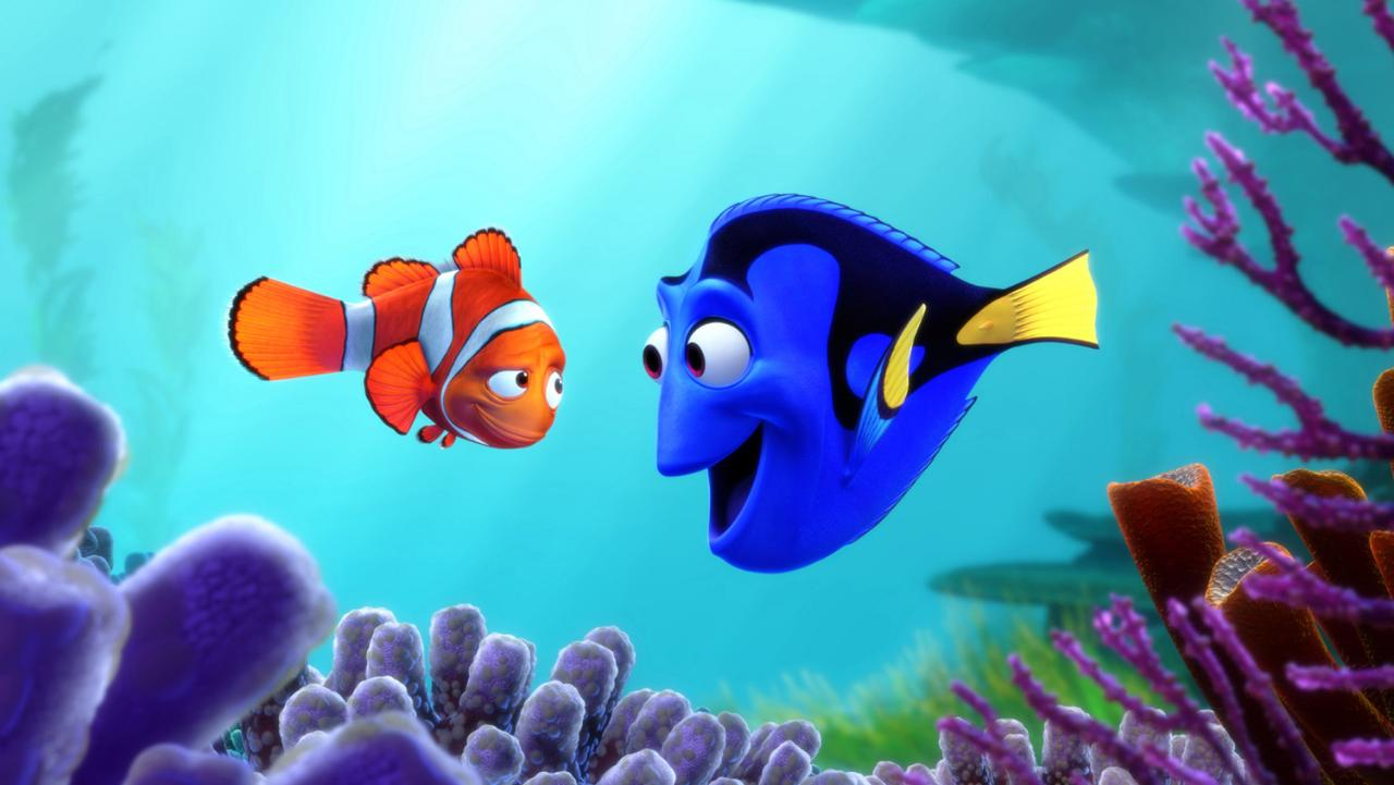 Finding dory film stills