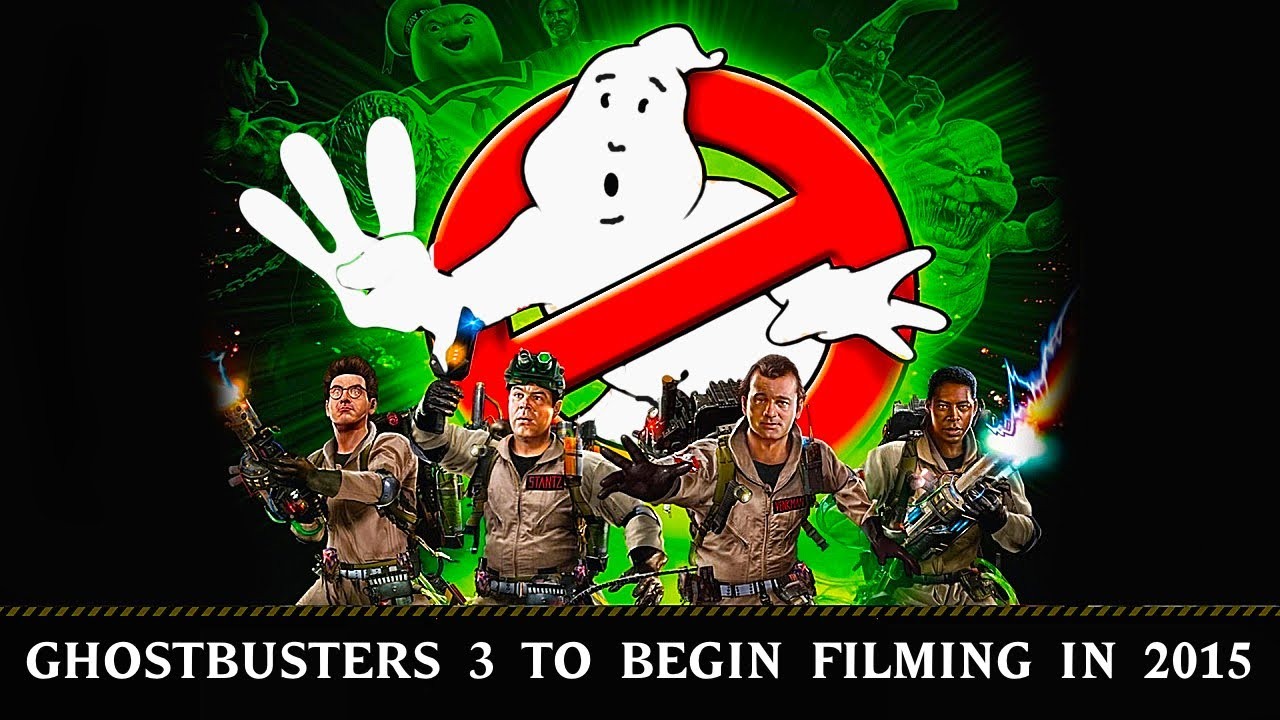 Ghostbusters 3 film poster