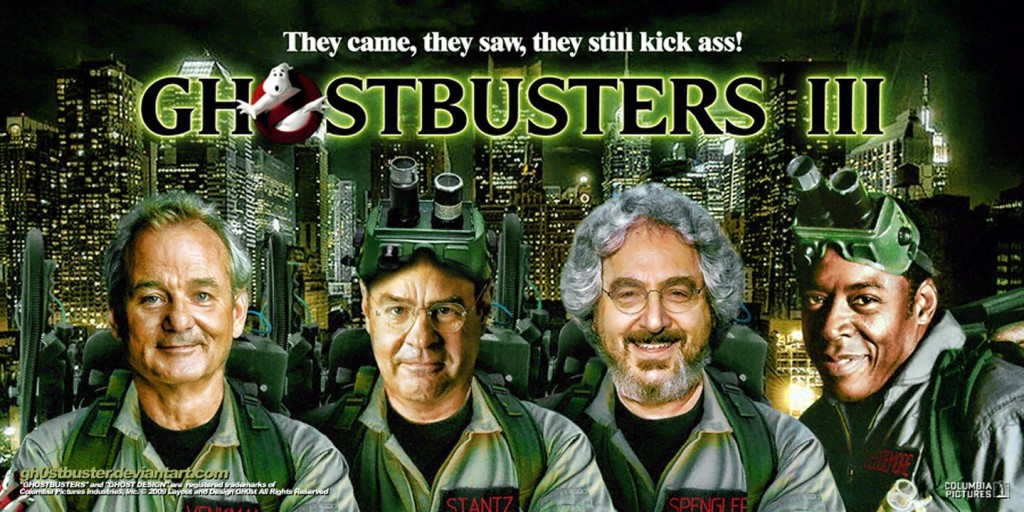 Ghostbusters movie 3 poster
