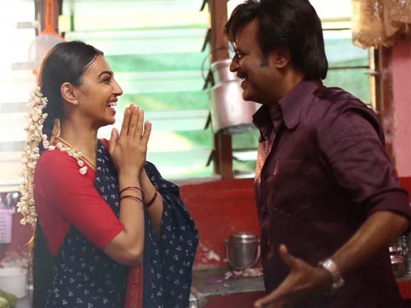 Kabali film radhika apte and rajini pictures