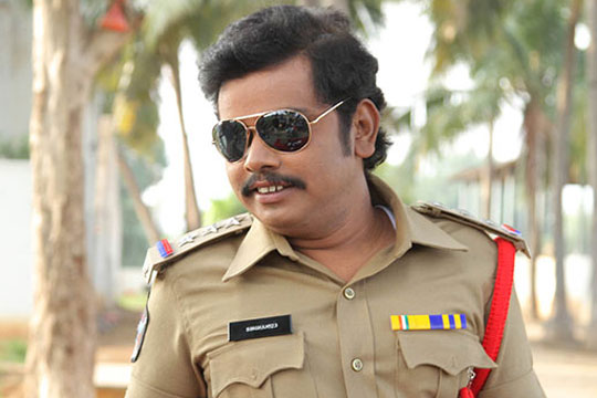 Kobbari matta movie sampoornesh babu police stills