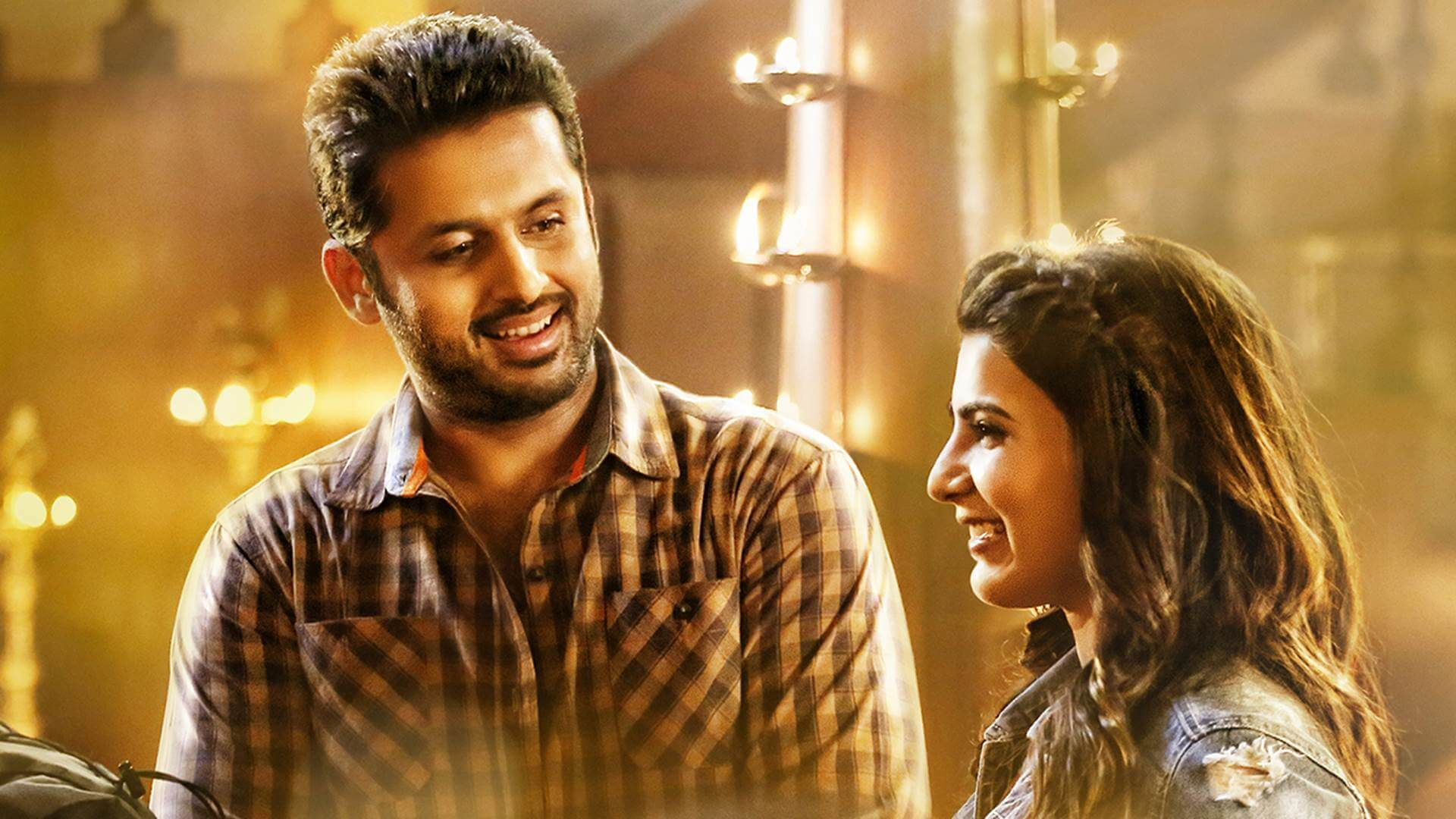 Nithin samantha a aa movie stills