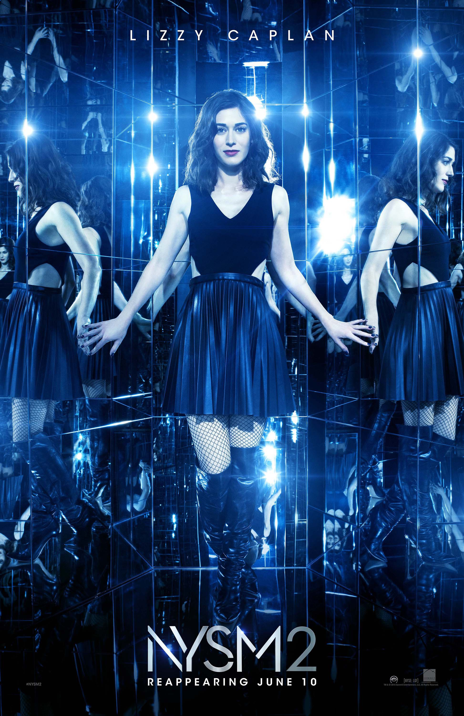 Now you see me 2 film heroine poster