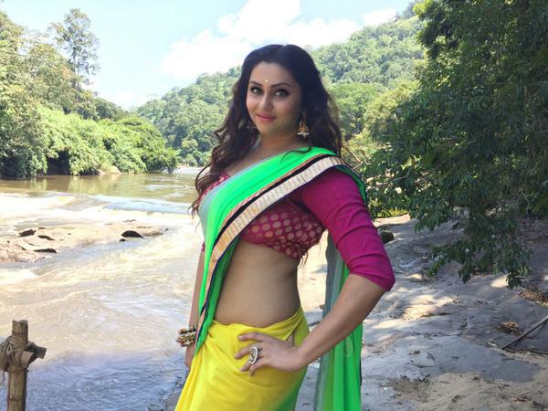 Puli murugan malayalam movie actress namitha stills