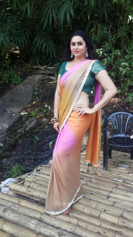 Puli murugan movie namitha saree photos