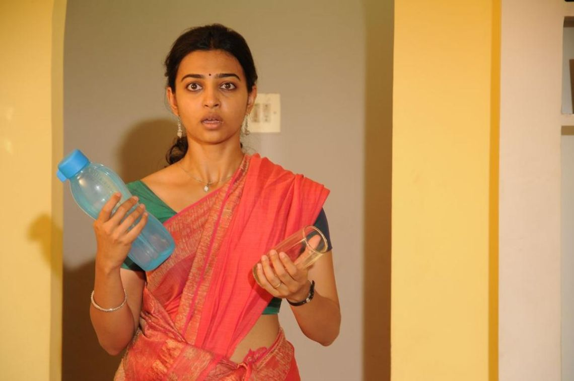 Radhika apte actress full saree photos
