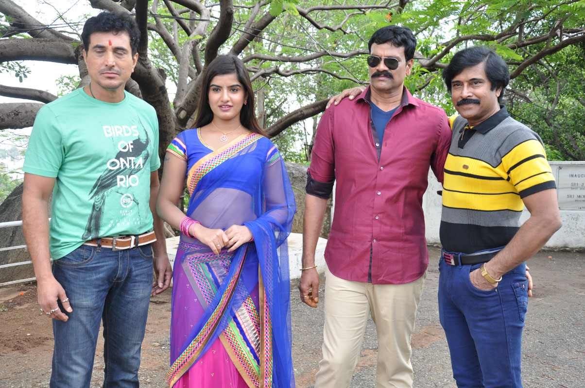 Rudra IPS telugu movie opening photos
