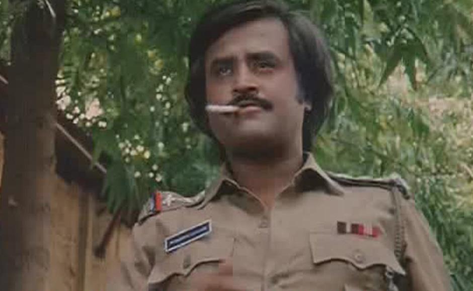 Super star rajinikanth police stills