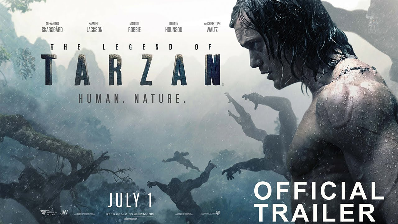 The legend of tarzan film first look photos