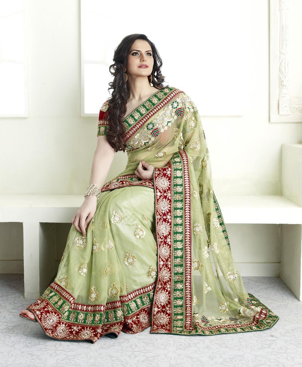 Zarine khan actress saree pictures