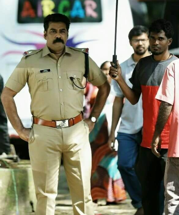 Anuraga karikkin vellam biju menon police dress photos