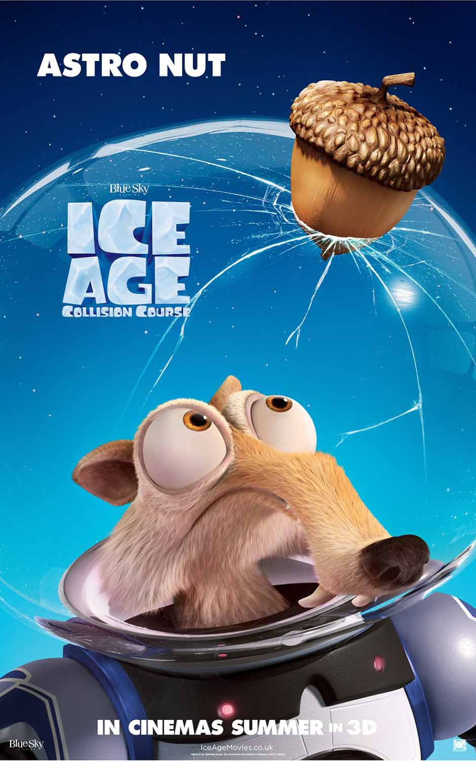 Ice age collision course first look poster