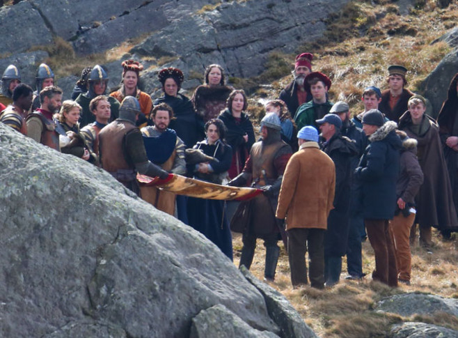 Knights of the roundtable king arthur movie shooting photos