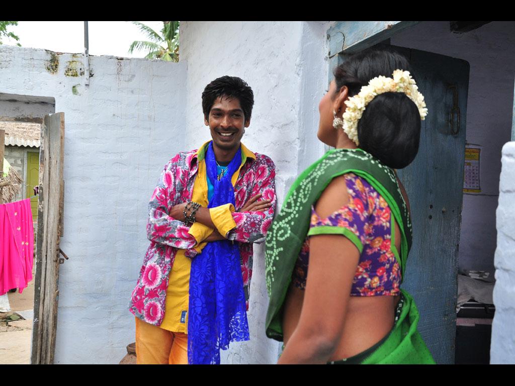 Panileni puliraju movie hero dhanraj photos
