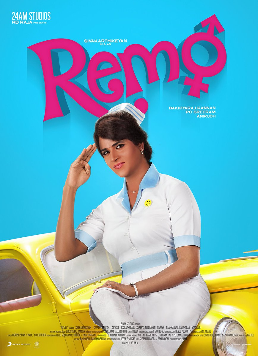 Remo movie sivakarthikeyan poster