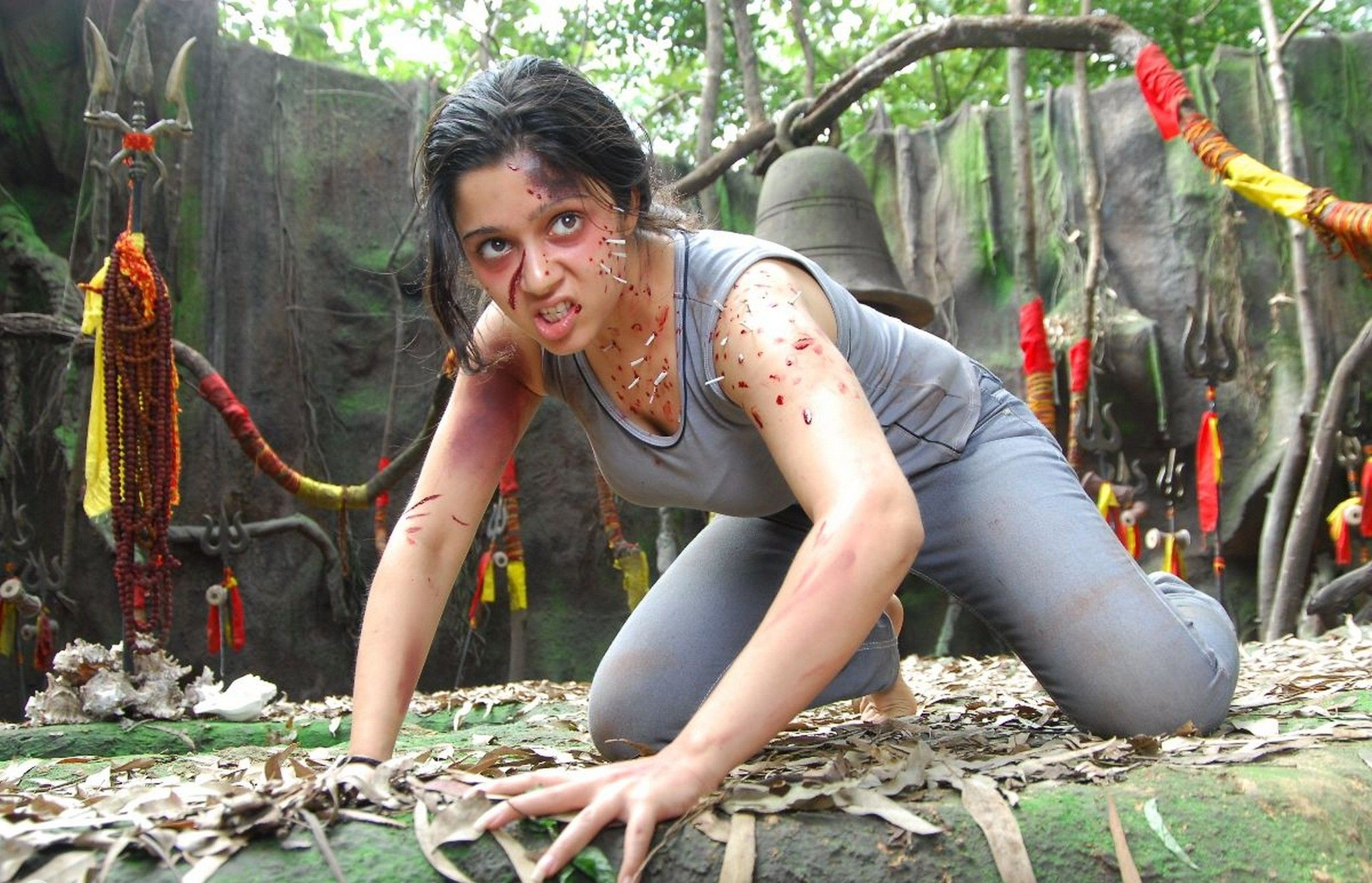 Sivangi movie archana hot photos