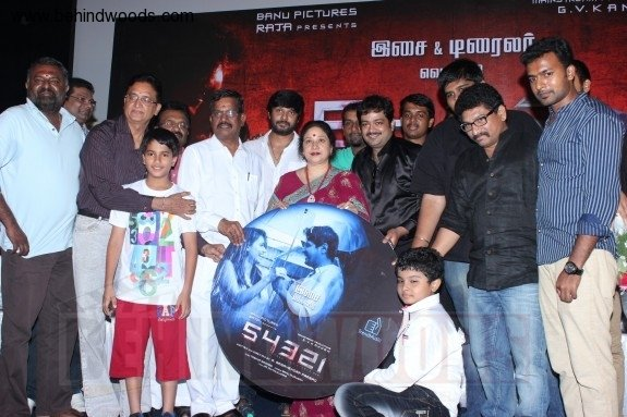 54321 movie audio trailer launch stills