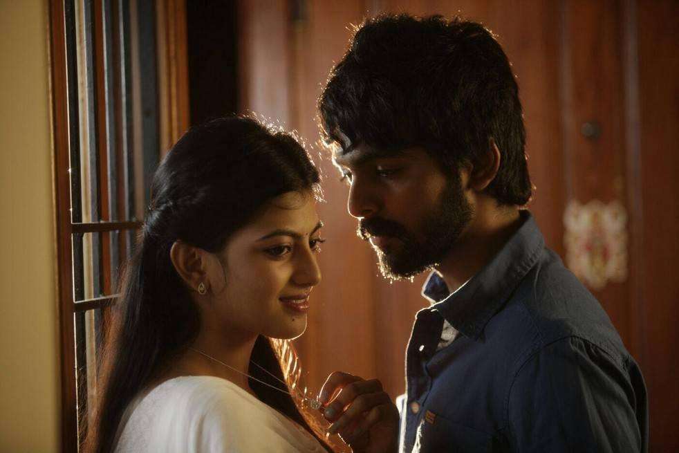 Gv prakash kumar and heroine anandhi stills