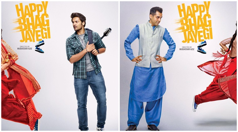 Happy bhag jayegi film stills