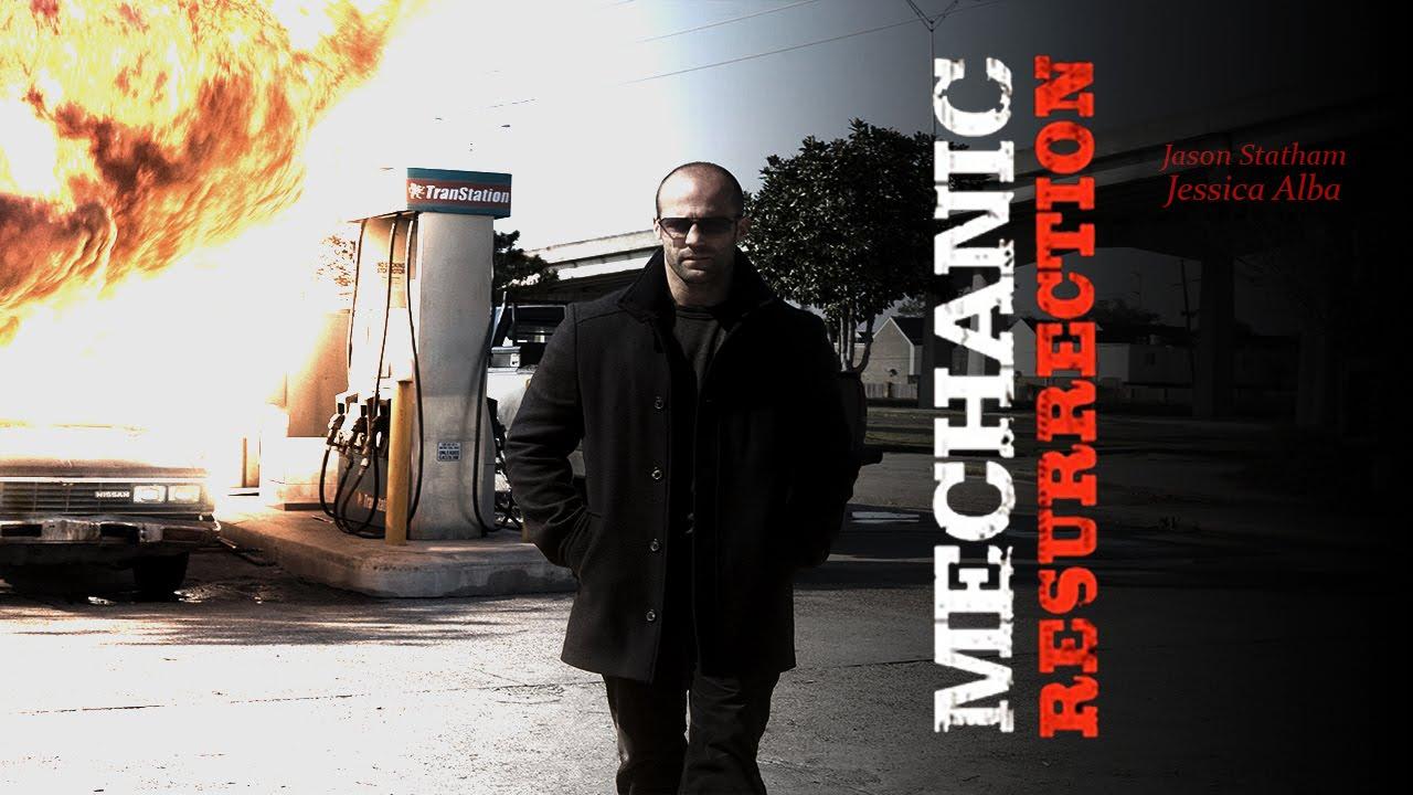 Mechanic resurrection film poster