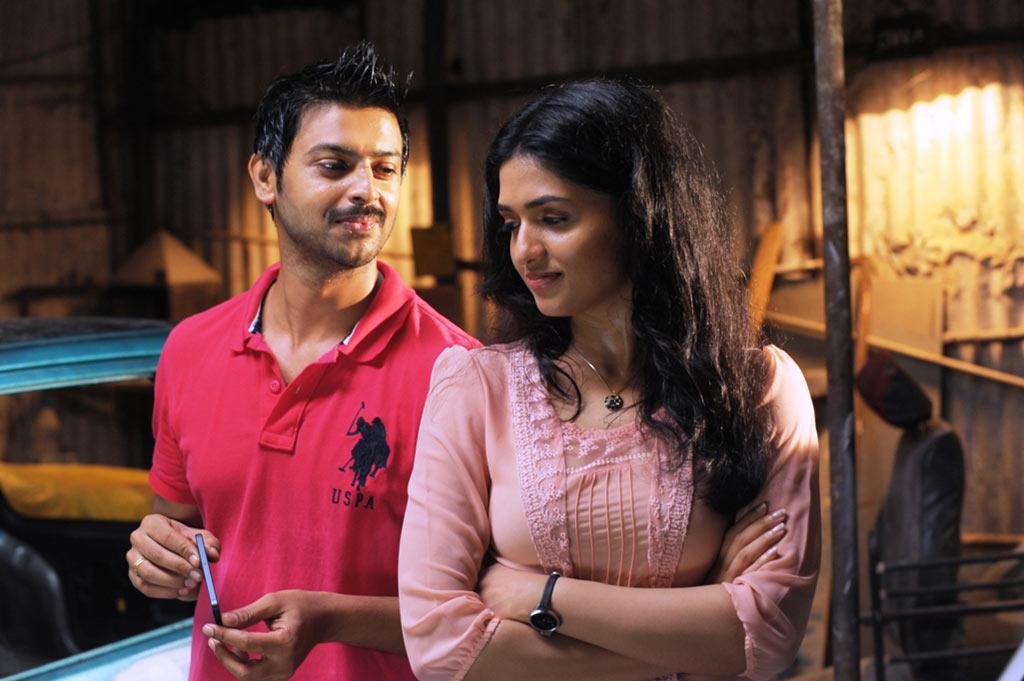 Nambiar movie hero srikanth and heroine sunaina stills