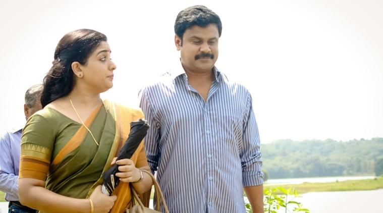 Pinneyum film hero dileep and heroine kavya madhavan photos
