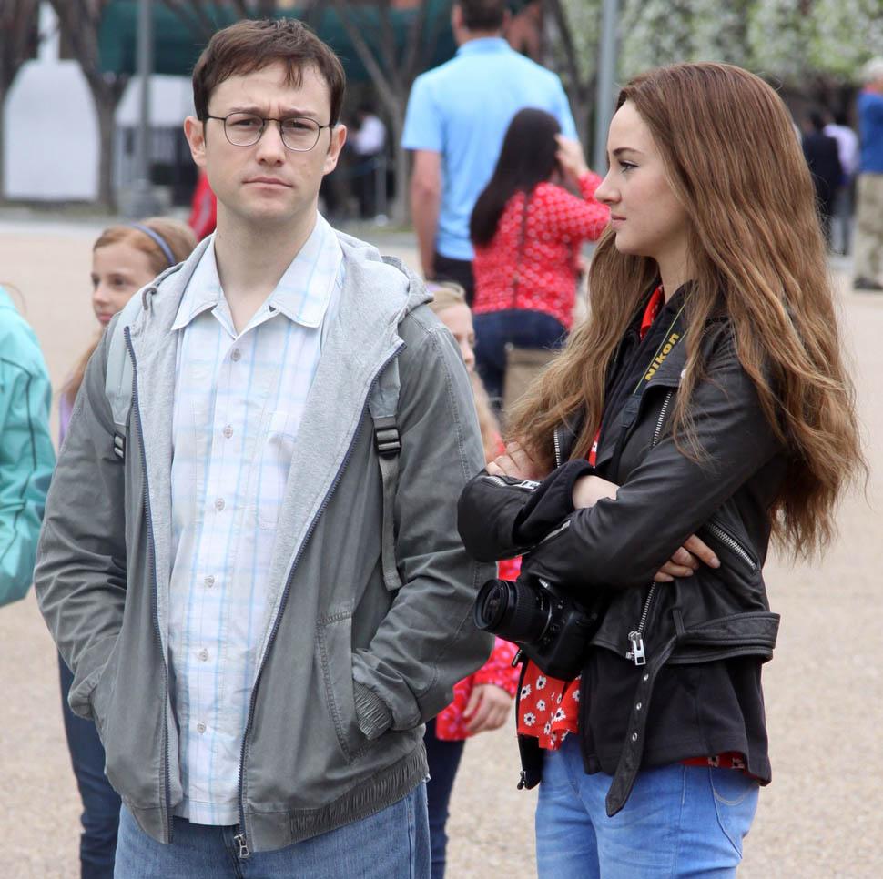Snowden movie heroine shailene woodley photos
