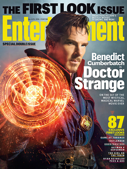 Benedict cumberbatch in doctor strange film