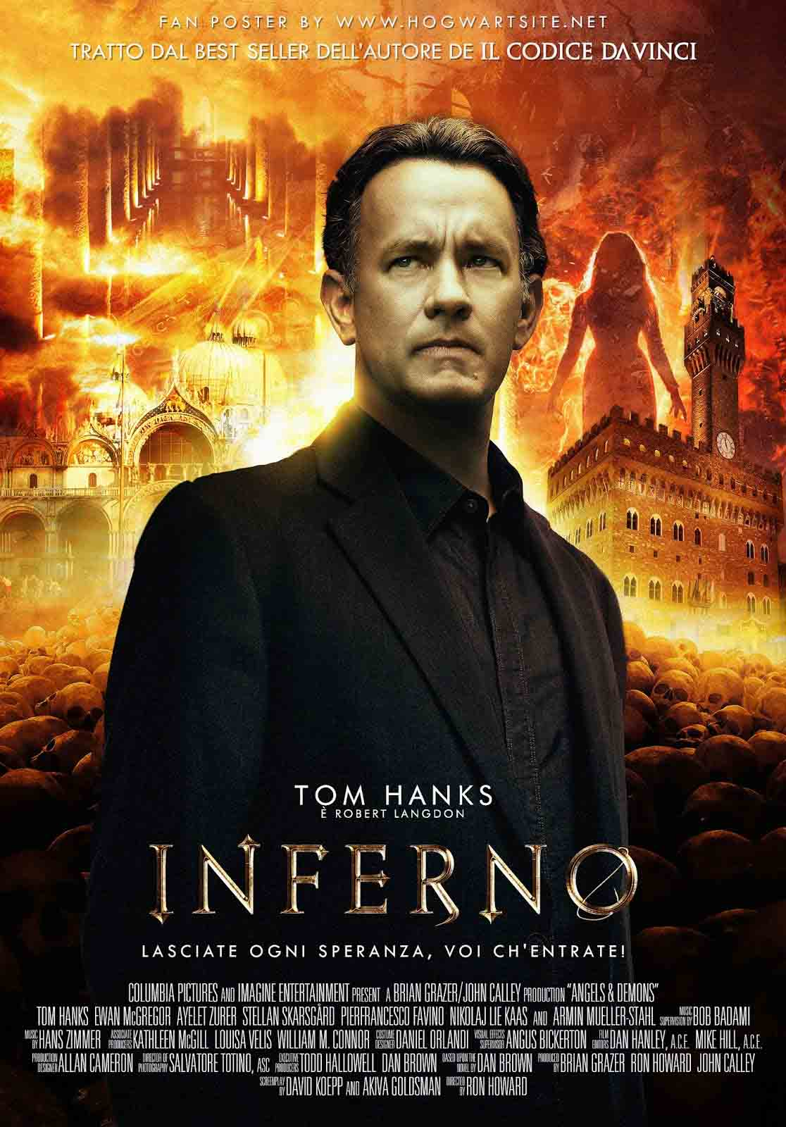Inferno 2016 tom hanks wallpapers
