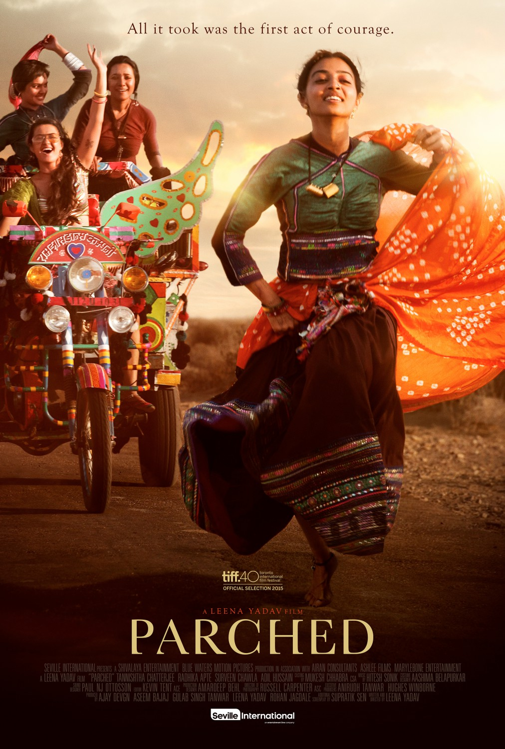 Parched hindi movie poster