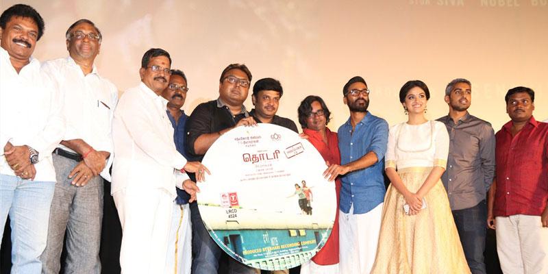 Thodari movie launch photos