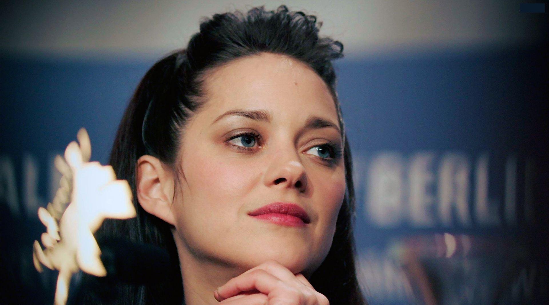 Hollywood actress hd hot marion cotillard cute face stills