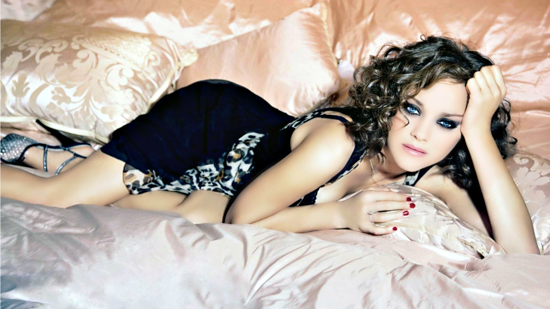 Hollywood actress marion cotillard desktop hd wallpaper