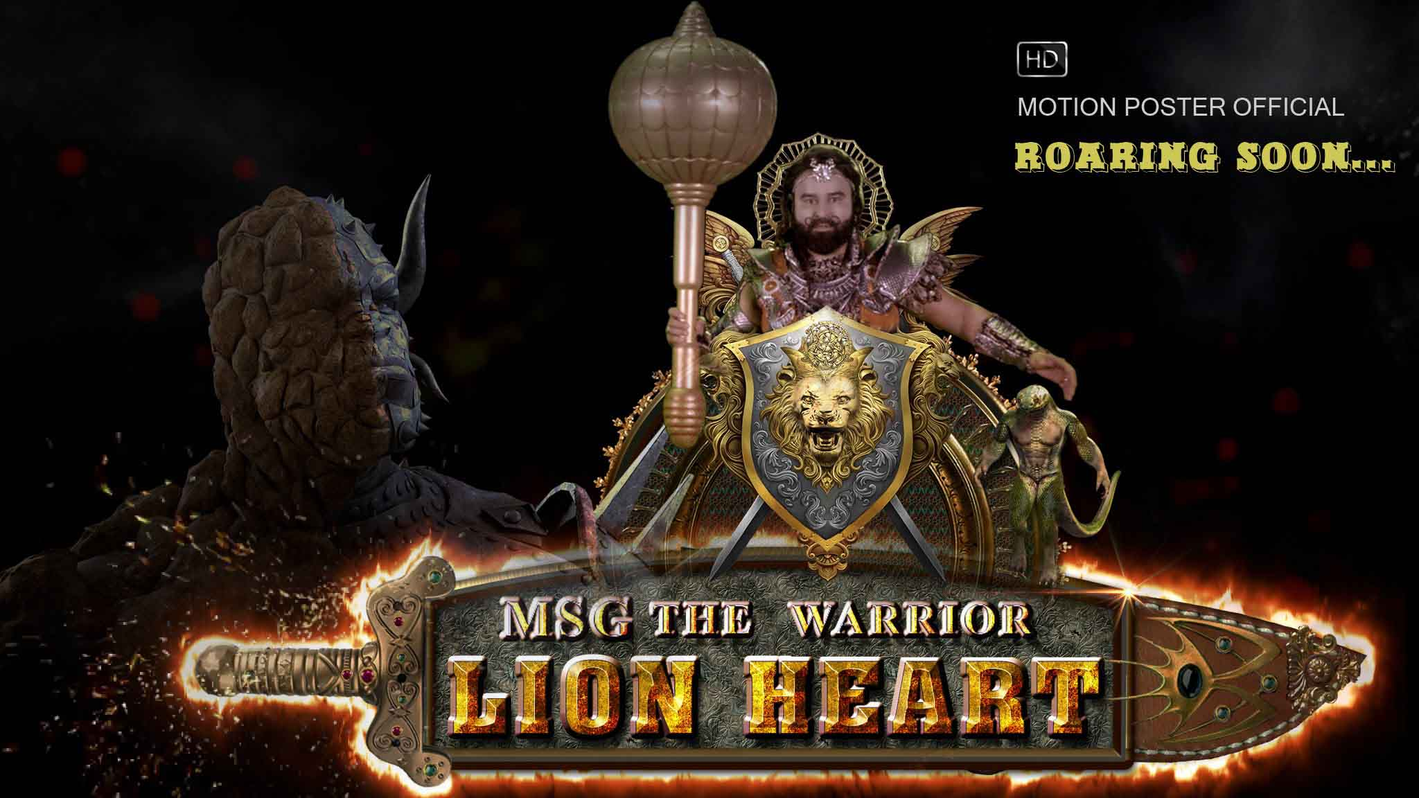 Msg the warrior lion heart movie wallpapers