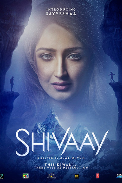 Sayesha saigal in shivaay movie wallpapers