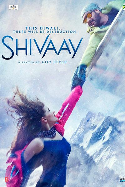 Shivaay sayesha saigal poster