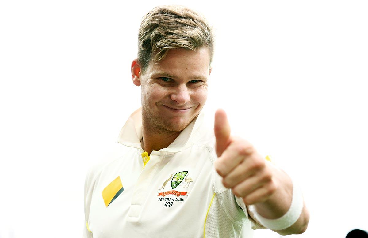 Smith cricketer white dress wallpaper